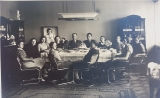 Rodina Strakova kolem roku 1936
