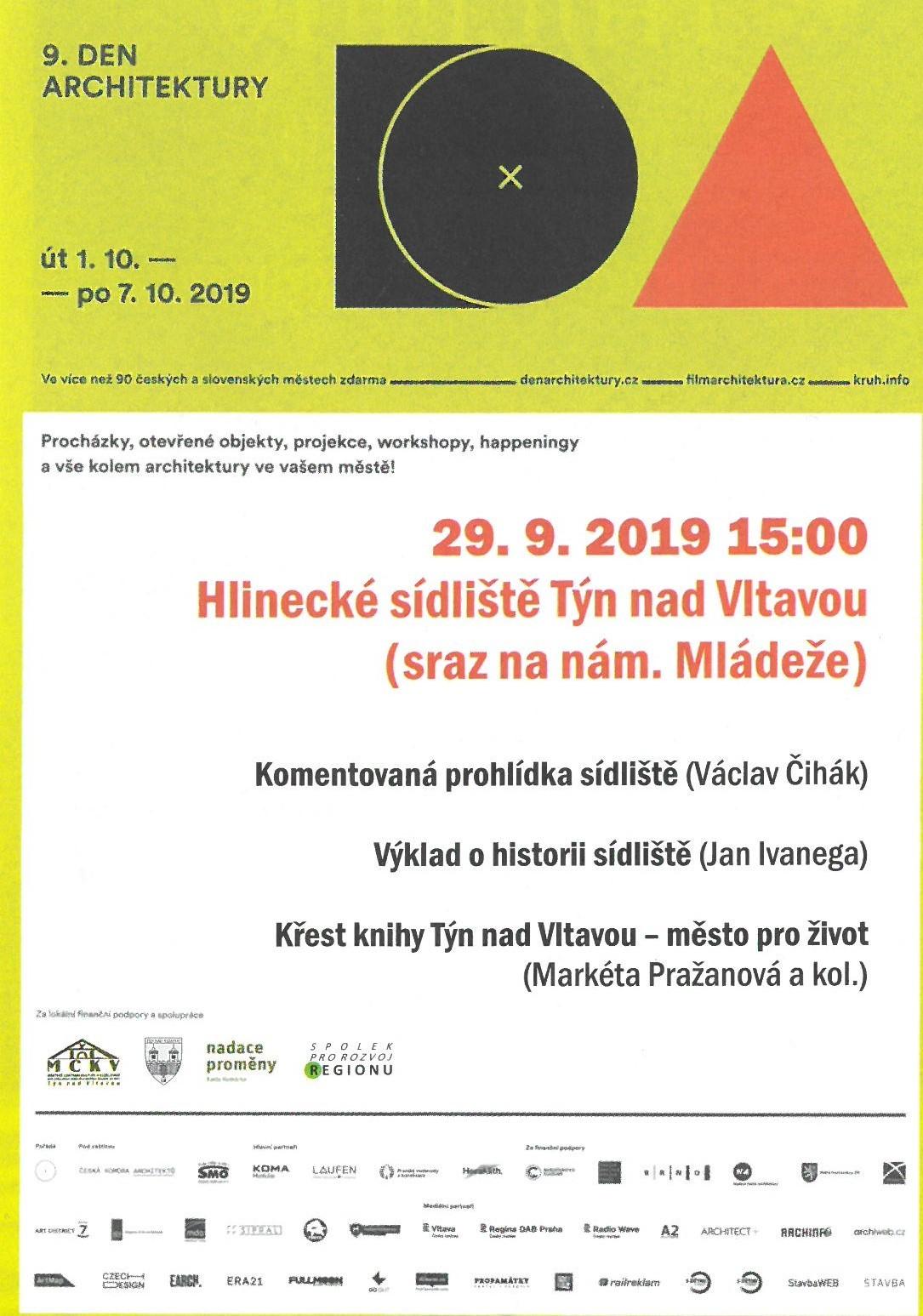 Křest knihy Týn nad Vltavou - město pro život